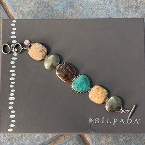 Silpada bracelet B1934 multi stone bracelet